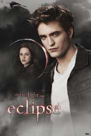 Poster - Twilight Eclipse - Edward and Bella Moon