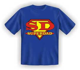 Poster - Superdad T-Shirt