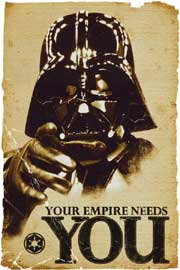 Star Wars Empire Needs You - Vader