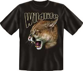 Poster - Wildlife Puma T-Shirt