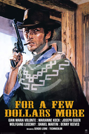Poster - For a Few Dollars More