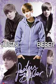 Poster - Bieber, Justin Collage
