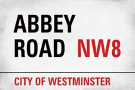 London Abbey Road Westminster