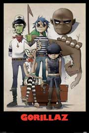 Poster - Gorillaz All Here