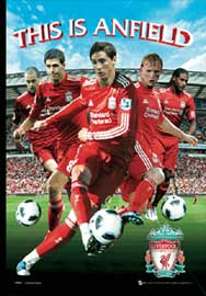 Poster - Fussball Liverpool Fc. - Players 10/11