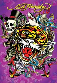 Poster - Ed Hardy Tiger