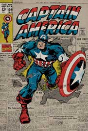 Marvel Captain America - Retro