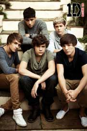 Poster - One Direction Treppen