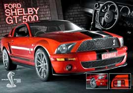 Poster - Mustang Easton Red