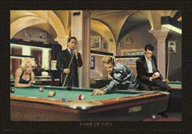 Poster - Consani, Chris Game Of Fate Billiard
