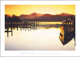Poster - Tarn, David Golden Evening