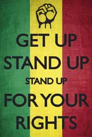 Poster - Reggae Culture Get Up Stand Up