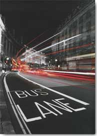 Poster - Bernier, Jean-Jacques Bus Lane