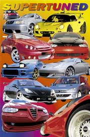 Poster - Cars Supertuned