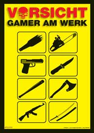 Gaming is not a crime Mikrofasertuch Grösse 15x21 cm