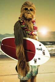 Star Wars Chewie Surf
