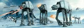 Poster - Star Wars AT-AT auf Hoth