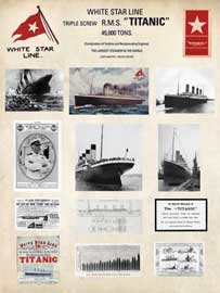 Poster - Titanic Collage