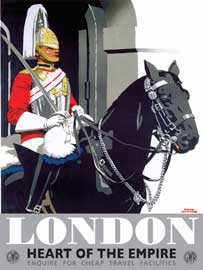 Poster - London Frank Newsould
