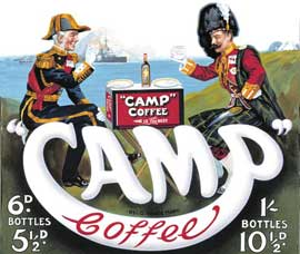 Poster - Vintage Advertising  Camp Coffee
