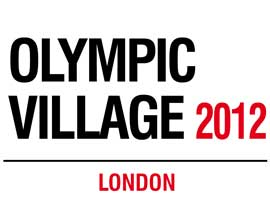 Poster - London Olympic Village