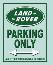 Poster - Parking Signs