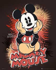 Poster - Disney Mickey Mouse
