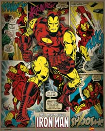 Marvel Iron Man Retro