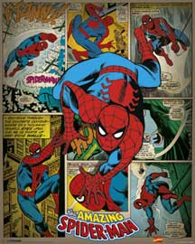 Marvel Spiderman Retro