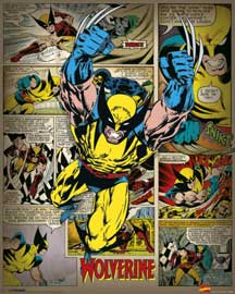 Marvel Wolverine Retro