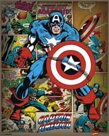 Marvel Captain America Retro