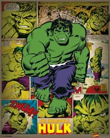 Marvel Incredible Hulk Retro
