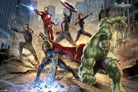 Poster - Avengers, The Strike
