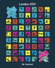 Poster - London 2012 Olympics - Pictograms