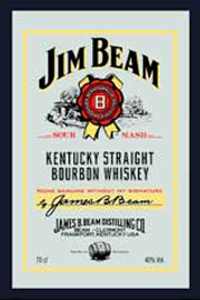 Poster - Jim Beam  Whiskey