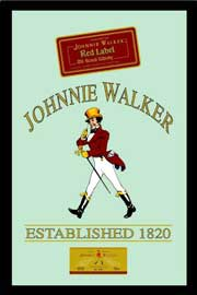 Poster - Johnnie Walker Whisky & Alkohol