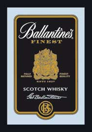 Poster - Ballantines Black Label