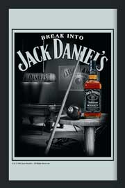 Poster - Jack Daniels Pool Billiard