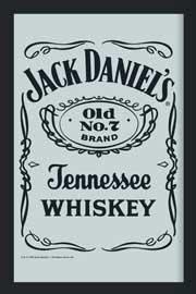jack daniels pool room whiskey billiard poster 61x91 5. Black Bedroom Furniture Sets. Home Design Ideas