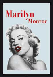 Poster - Monroe, Marilyn Red Lips