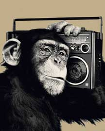 The Chimp Boombox