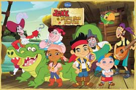 Jake and the Never Land Pirate Cast