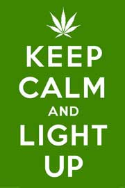 Poster - Keep Calm And Light Up