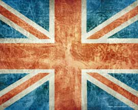 Vintage Union Jack Mousepad 43