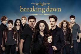 Poster - Twilight Breaking Dawn Part 2 - Cast