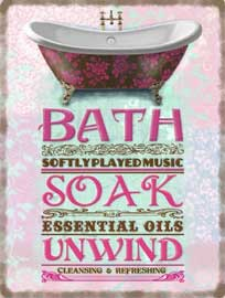 Poster - Bath Soak Essential