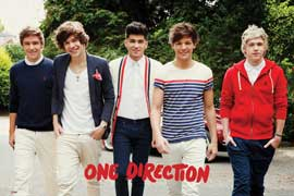 One Direction Walking