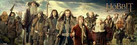 Poster - Hobbit, The Cast