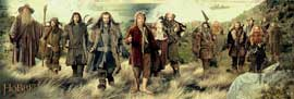 Poster - Hobbit, The Company
