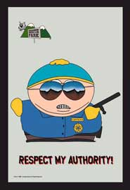 Poster - South Park Cartman Police